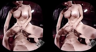 SexLikeReal-Cougar Attack 180VR 60 FPS VR Sexperience