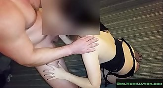 Obedient Amateur wife Shared with Another Stranger