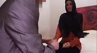 Head Scarfed Arab Teenage Dirty Sucking On Strangers Thick Dong