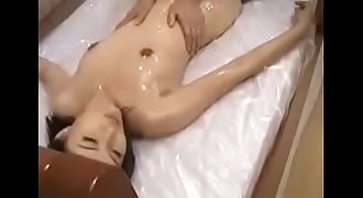 Japanese Oil Rubdown Lesson - Watch Part2 on porn4us.org