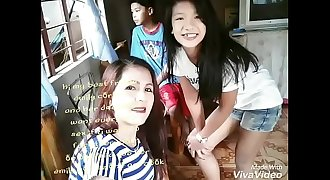 ( emily cortez) ( ylime rivera ) and her daughter looking for hook-up