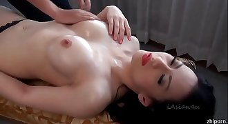 Chinese hot model scandal - naked massage
