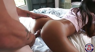 Katya Rodriguez gets fucked in doggystyle and reverse cowgirl