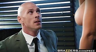 Brazzers - Big Tits at Work - Spilling The Boobs scene starring Isis Love and Johnny Sins
