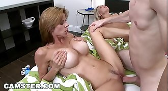 The Blonde, The Brunette &amp_ The Redhead (Starring Alexis Faux)