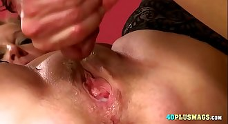 Granny Loves Huge Dick and Creampie