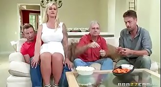 Brazzers  - Fucking my Mom Ryan Conner in kitchen