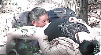 Asian old man fuck whore in wood  3   goo.gl/TzdUzu