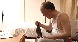 Old Man Fucks Hot Young Girl Next Door Neighbor-Japan Asian-Part4