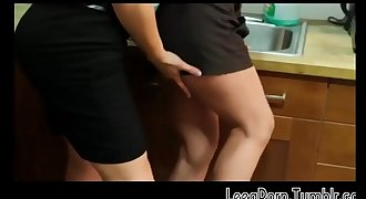 Brunette Opens Her Gams on the Office Kitchen Counter Sapphic Mobile Free Porno HD
