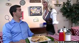 Brazzers - Big Tits at Work -  The Customer Gets My Tits scene starring Diamond Foxxx and Ramon