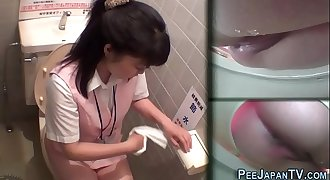 Asians filmed urinating