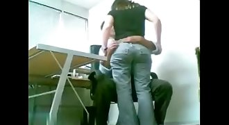 Boss Fucks His Employee Office Sex - SexyCamWomen.com